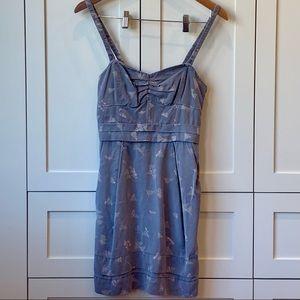 Aritzia Wilfred Bustier Gray Dress